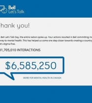 #BellLetsTalkDay was a BIG success! Remember... your language matters 💙educate yourself 💙be kind 💙listen & ask 💙talk about it! #teamworkmakesthedreamwork