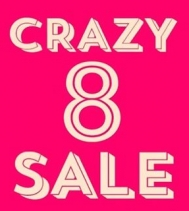 CrAzY 8 Sale at Bootlegger @northgate_bootiecrew