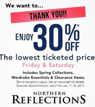 Thank You Northern Friends for being our customer! We look forward to continue providing you with the very best in design, quality and service. #northernreflections #northernfriends #Clothing #Spring #Discount #Springdiscount #friends #Appreciation