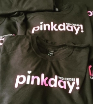 #redcrosspinkday official pink gear!