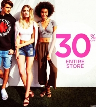 Tomorrow ONLY! 30% OFF ENTIRE STORE! @northgateyqr @bluenotesjeans