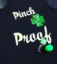 Stay Pinch Proof this #stpattysday with cute accessories @clairesstores! 🍀💚🍀