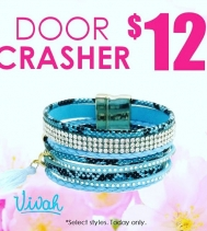 Today only! $12 Wrap Bracelets at #vivah #greatfinds #tgifridays