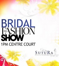 Check out the runway for all the HOTTEST 🔥🔥🔥 Bridal Fashions for 2017 tomorrow in Centre Court! Show starts at 1!
