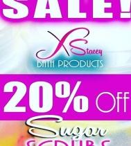 Save 20% Off all Sugar Scrubs until April 30!! 🛁💦