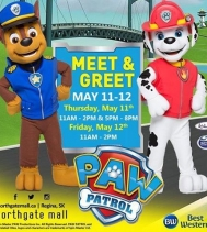 The Pups from Adventure Bay are coming to Northgate Mall May, 11th and 12th! Pack up the kids and head over on the double - then smile BIG and 📱📸snap a pic with Police Pup Chase 🔎🚨🚔and Fire Pup Marshall! 🚒🔥 〰Summer ☀️Contest〰