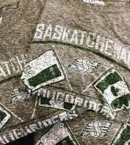 Green is the colour this Canada Day! 💚🏈🍁💚🏈🍁 Check out these festive tee's at The Rider Store!