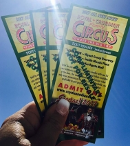 The Sun ☀️is shining and the Royal Canadian Circus 🎪is almost here! 👍🏽Like our post and you're entered to win a family pack of 4! 🍿🍭🌭🤡🤹🏽♂️🥁🎟! Winner will be announced Jul.7...See you under the Big Top! Visit the