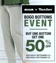 #BOGO Bottoms Event at Alia n Tanjay