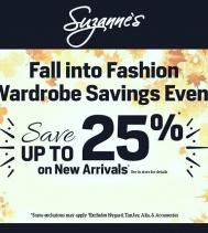 Fall into Fashion at Suzanne's 🍂