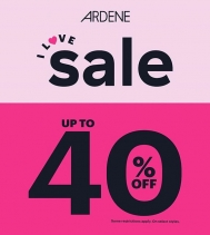 This weekend only get up to 40% OFF almost everything at @ardene! 🛍Ends Oct.10th