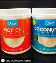 Mix some easy-to-measure fats into your favorite shakes 🥛or baked goods 🍪 for that extra delicious goodness of Coconut Oil! @gnc_northgate_regina