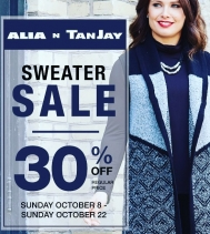Sweater Sale on Now at Alia n' Tanjay! 🛍