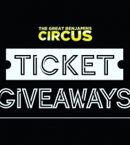 TICKET GIVEAWAYS 🎟 👍🏽 Like or Page & Post 🗣 Comment and Tag a family that you would like to enjoy The Great Benjamin's Circus with!! 🎪🤹🏽♀️ Draw Date is APR.4 | One Lucky Winner will be chosen and will win 2 family passes to t