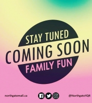 We have planned some FUN Family Entertainment this 🌼🌼spring! Stay informed by following us on social media or visit northgatemall.ca