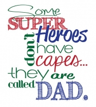 Happy Father's Day!  #superdad