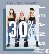 Today get 30% Off Jeans! 👖