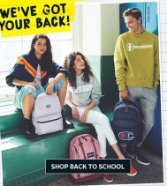 We've Got Your Back! There's one for everyone! Shop Bentley at the Northgate Mall for all your back to school needs. #backtoschoolshopping #backpacks #shopbentley