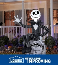 🎃 SHOP & SAVE 15% on Halloween Inflatables & Projections Lights. Stop by Lowes in the Northgate Mall Today! #Halloween #halloweeninflatables #shopandsave