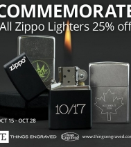 Visit Things Engraved for their new sale