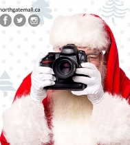 Santa is here!! 🎅 Come by and say Hi! ⛄🎄 Check out http://northgatemall.ca/pages/santa-photos for Santa's schedule and pricing! 🎅📸