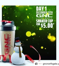 Happy Holidays Everyone 🎅🎄 12 Days of Daily Deals Starts TODAY at GNC and ends DEC 24TH.  #gncnorthgate #stockingstuffers #giftideas #deals