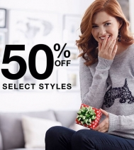 Find the perfect gift for everyone on your list (including yourself!!) with 50% OFF Select Styles at Ricki's! Limited Time Only!! Some restrictions apply. Ask in store for details! #gifts #rickisfashion