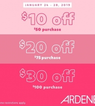 I See It, I Want It!  Get Up to $30 Off at Ardene!! Some restrictions apply. See in store for details. #ardenelove