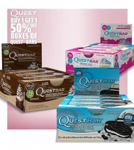 Do you love Quest Bars? Then you will love this!! 😁😋🙌 February 7th to 9th:  BUY ONE, GET ONE 50% OFF - MIX & MATCH your favorite ❤Quest Nutrition Bar Boxes!  @gncnorthgate.yqr