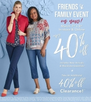 This Thursday & Friday, March 7th & 8th: Friends & Family Enjoy 40% OFF, including Newest Arrivals at @northernreflections!! #northernreflections #northernfriends  #shoppingevent #friendsandfamily