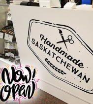 Handmade Saskatchewan is Officially OPEN!! 🎉 Looking for that perfect Gift or something Fabulous for yourself!! 😀 @handmadesask there are over 50 Unique vendors in store, there's something here for everyone!! #handmadesaskatchewan #yqrhandmade #supp