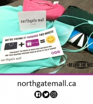 New Spring Clothing for this Shopper!! We were delighted to PAY IT FORWARD at Below the Belt!! 🛍🌼 #PayingItFoward #yqr #march #giveaways #shopping