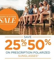 Find Savings on Prescription Sunglasses with Polarized Lenses during FYidoctors Spring Sunglasses Sale! 😎☀️ Valid for a limited a time, in-clinic only. Some  restrictions apply visit FYidoctors for details. #spring #sunglasses #saving