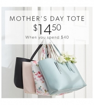 When you spend $40 or more at Coles. You can pick up their Beautiful Mother's Day Tote 👜 for only $14.50. 😀 Offer ends May 12, 2019 #MothersDay #colesbookstore