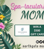 Every MOM deserves to feel Spa-tacular!! 🧖♀️🌺😍 Visit northgatemall.ca or our Facebook page for your chance to WIN a $500 Gift Card to Temple Garden Mineral Spa!  Contest Closes May 9th, 2019 - 10AM #spa #contest #happymothersday