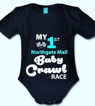 Gaga-Googoo...👶🏼🍼 If your baby loves crawling n' speed, then Enter The 33rd Annual Baby Crawl at Northgate Mall!  Registration Opens Aug.19 at Customer Service! It's a $10 donation fee with proceeds going to the NICU!  Loads of prizes and the