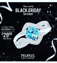 Treat yourself! 💍 Only $29.99 | Limited time | While quantities last. #LovePeoples #EarlyBlackFriday 🖤