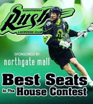 Experience a whole new level of fun!🙌🏽 Enter now at customer service for your chance to win a pair of tickets to the Saskatchewan rush in Saskatoon!  Visit customer service for full details – no purchase necessary.  @ctvregina @saskrush